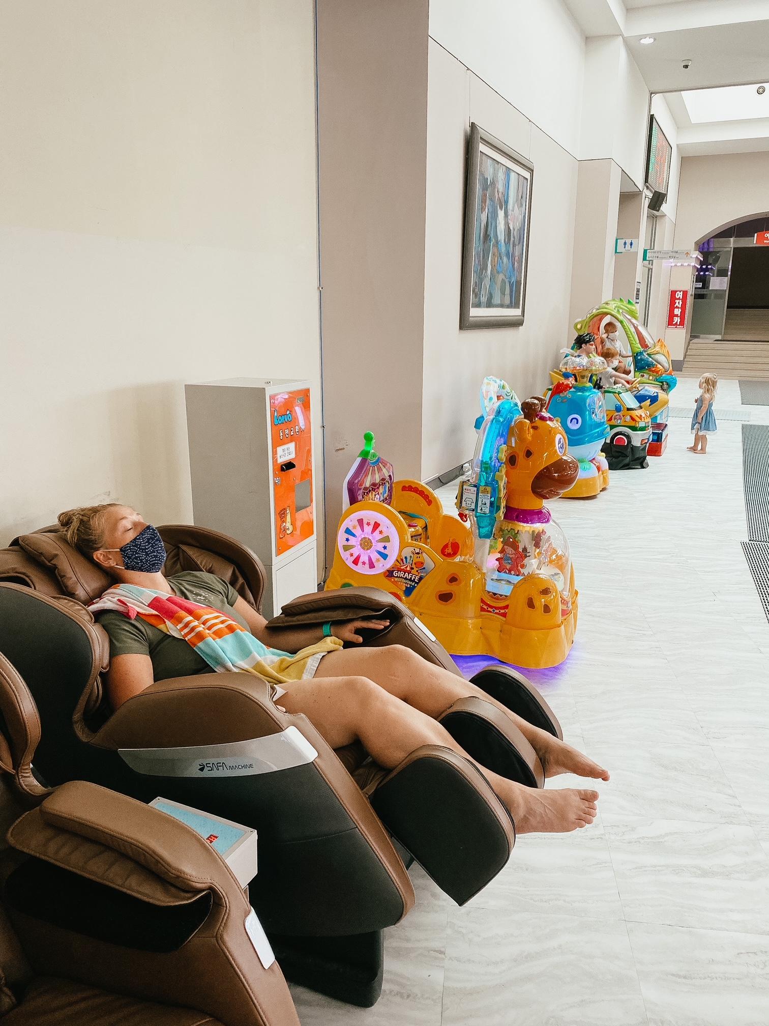 korean massage chair